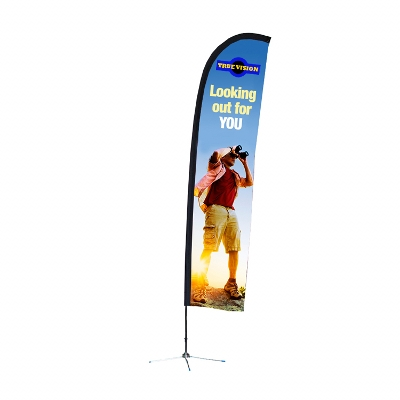 Picture of Bali Flag - Double Sided 2400mm (h)