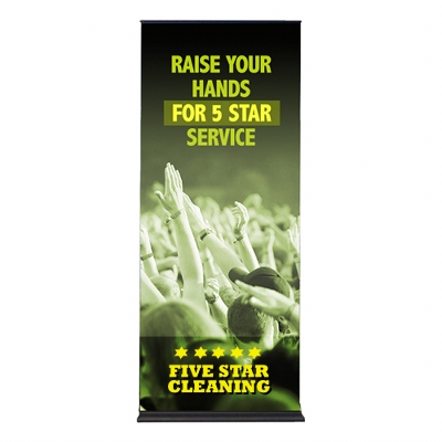 Picture of Deluxe Pull Up Banner 1000mm(w)