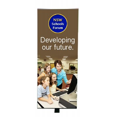 Picture of Premium Lectern Banner 400mm(w)