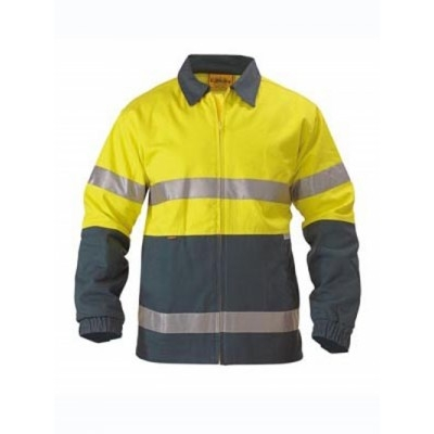 3M Taped Two Tone Hi Vis Drill Jacket