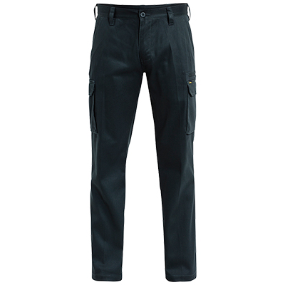 Cotton Drill Cargo Work Pant