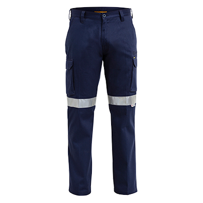 3M Taped Cotton Drill Cargo Work Pant