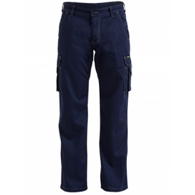 Cool Vented Lightweight Cargo Pant With  Contrast Stitching