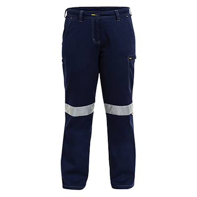 Womens 3M Taped Vented Cool Lightweight Cargo Pant With Contrast Stitching