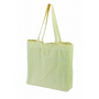 CALICO BAG WITH GUSSET