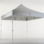 3x3 MARQUEE - WITH FRAME AND CANOPY - Premium Steel 29mm Frame Compact Version