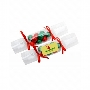 Clear Christmas Crackers with Chocolate Baubles