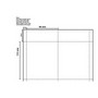 Name Tag Inserts 95x113mm White - 4 per page 50 sheets per pack