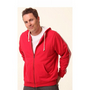 Mens Contrast French Terry Hoodie
