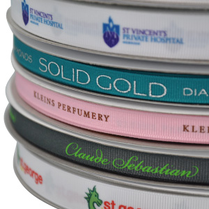 Picture of Full Colour Printed Ribbon or Ribbon Dyed to PMS Colour 7mm