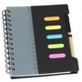 Notebook with Pen & Ruler