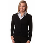 Ladies V-Neck Long Sleeves Cardigan