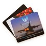 Deluxe Mouse Mat (205 x 145 x 3 mm) Rubber Sponge