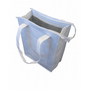 NON WOVEN COOLER BAG WITH TOP ZIP CLOSURE