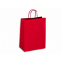 Kraft Paper Bag Coloured Large Includes Twisted Paper Handle