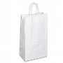 Kraft Paper Bag White Large Includes Twisted Paper Handle