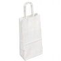 Kraft Paper Bag White Small Includes Twisted Paper Handle
