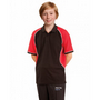Kids TrueDry Tri-colour Short Sleeve Pique Polo