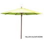 2.7m Tuscany Wood Look Market Umbrella, Polyester cover