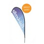 Large Teardrop Banner - Single Sided Combo