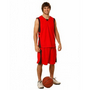 Adults CoolDry Basketball Contrast Colour Shorts