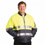High Visibility Tow Tone Flying Jacket with 3M Reflective Tapes