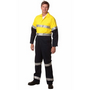 Mens Cotton Drill Coverall with 3M Scotchlite Reflective Tapes