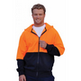 High Visibility TwoTone Fleecy Hoodie