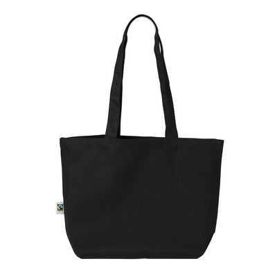 Picture of Heavy-weight Fairtrade Canvas Market Bag (Warehouse Stock)