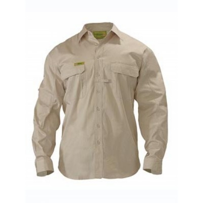 Insect Protection Two Tone Hi Vis Shirt -  Long Sleeve