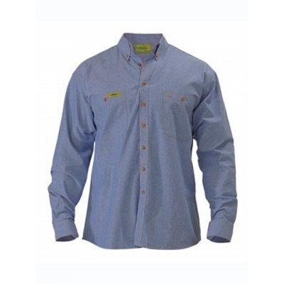 Insect Protection Chambray Shirt - Long Sleeve