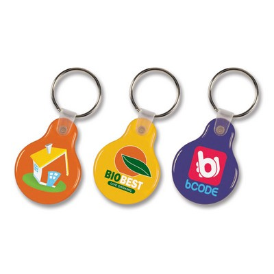 Picture of Flexi Resin Key Ring - Round