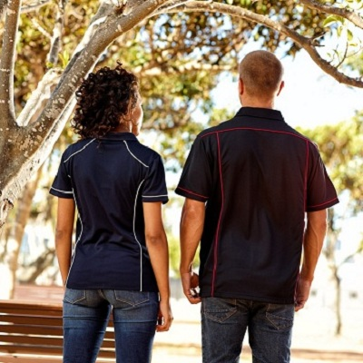 Picture of Ladies Ultra Piping Polyester Polo