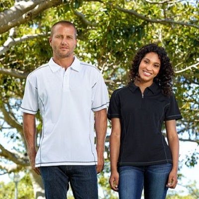 Picture of Ladies Vibe Coverstitch Polo