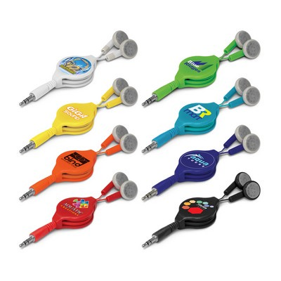 Picture of Retractable Earbuds