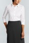 Womens 3/4 Sleeve Business Shirt