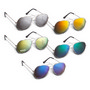 Aviator Sunglasses - Colour Mirror
