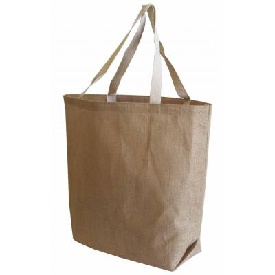 Picture of Jute Large Market Bag - Bottom Gusset