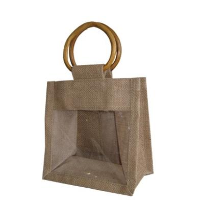 Picture of Jute Double Jar Bag