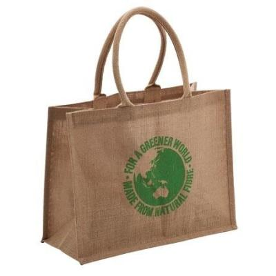 Picture of Jute Carry Bag  For a Greener World - Lu