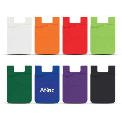 Picture of Silicone Magnetic Auto Air Vent Phone Wallet