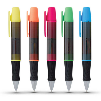 Picture of 3-In-1 Executive Assistant Highlighter Pen