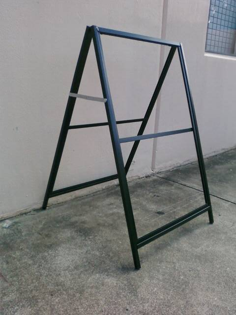 Picture of A-Frame 600 x 900 corflute insertable