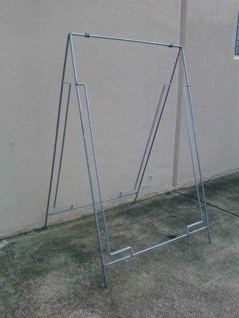 Picture of Wire A-Frame (galvanised)