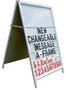 Changeable Message A-Frame 600x900