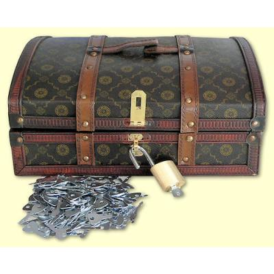 Picture of Treasure Chest with Padlock & Keys