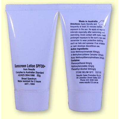 Picture of Sunscreen - 50g Tubes
