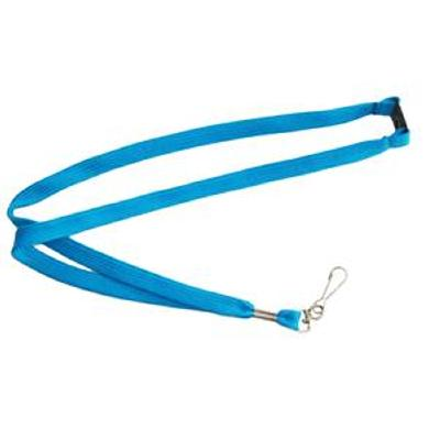 Picture of Lanyards Stock Tube 12mm Process Blue