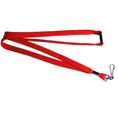 Picture of Lanyards Stock Tube 12mm Red PMS 485C