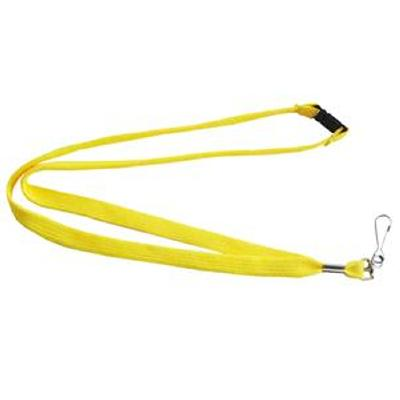 Picture of Lanyards Stock Tube 12mm Yellow PMS 803C